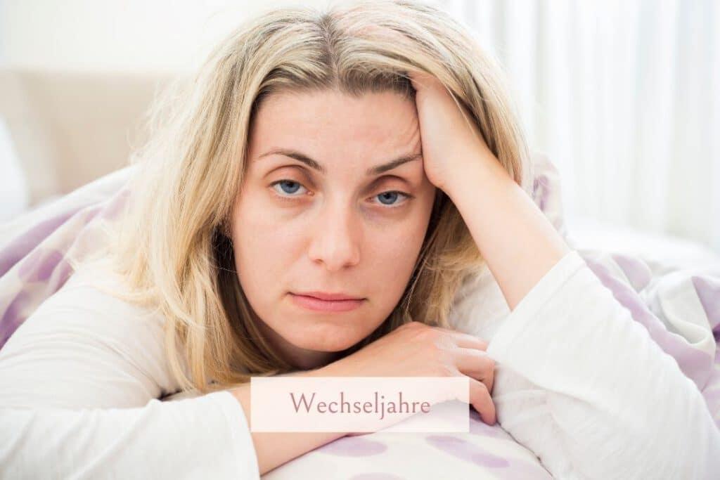 Schlafstörungen sind in den Wechseljahren weit verbreitet